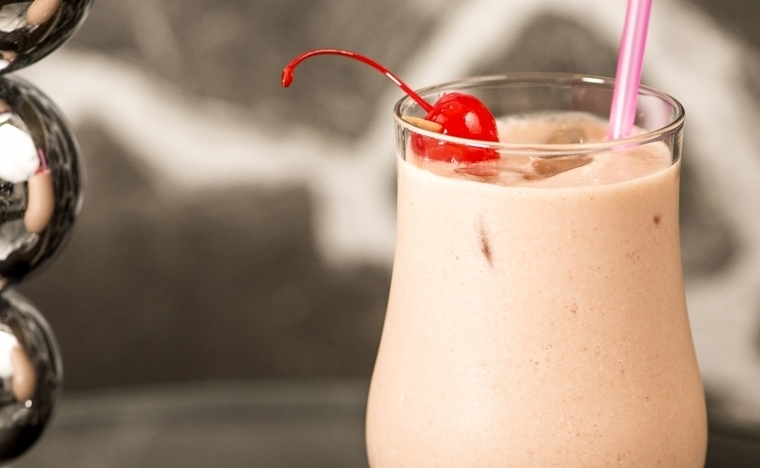 Frozen Strawberry and Banana Colada