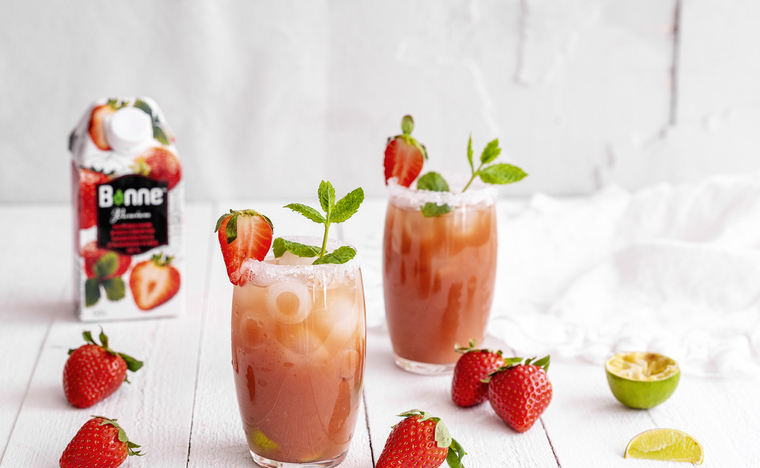 Summery Strawberry Mocktail
